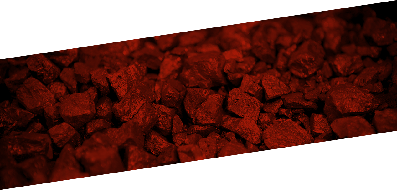 A stack of coal used for mining