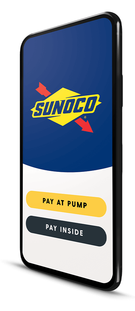Phone with Sunoco App