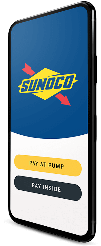 Sunoco App on Mobile Phone