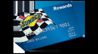 sunoco rewards card login